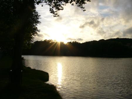 La pêche sur la brème en septembre sur volge